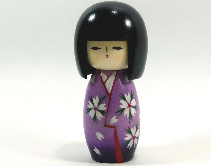 poupée japonaise trop mignonne
