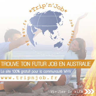 Job australie working holiday visa