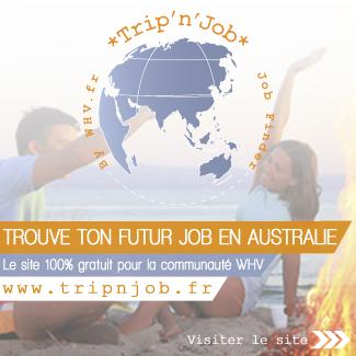 Job australie working holiday visa
