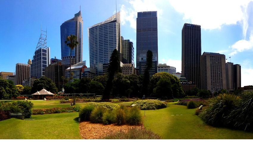 Le CBD ou quartier des affaire à Sydney - Crédit photo : Gaëtan Le Guennec