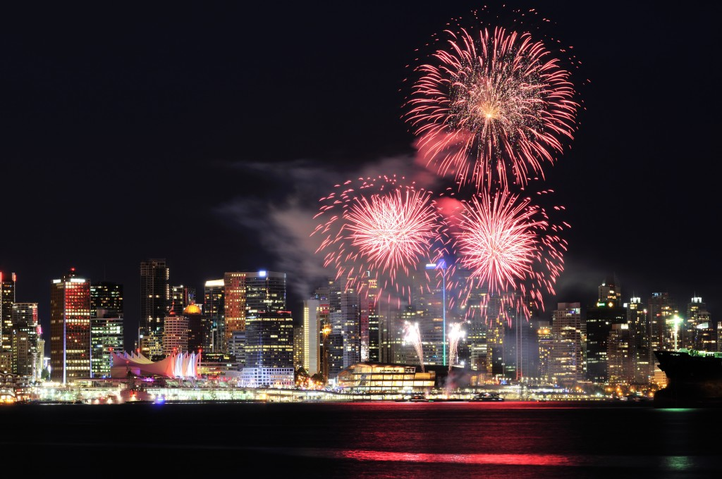 Happy 2015 from Vancouver !