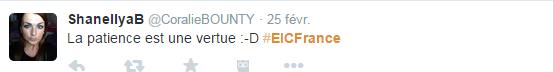 Tweet EIC FRance 5
