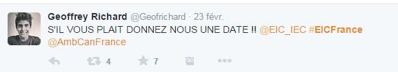 Tweet EIC France 8