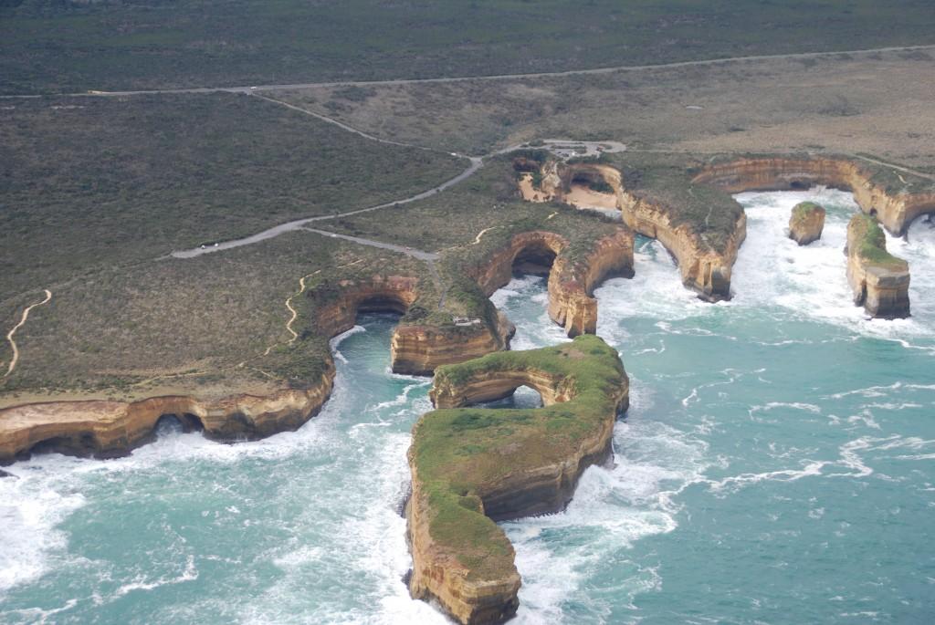 Great Ocean Road vue d'hélico :) ! Crédit photo : Enzo Del Testa