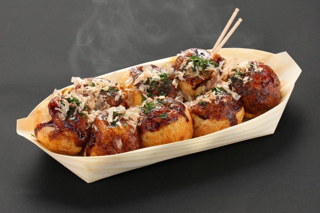 takoyaki, octopus balls, japanese food