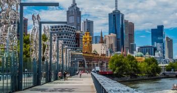 vue de Melbourne