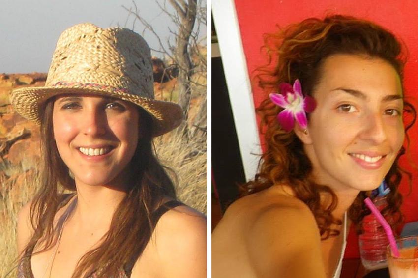 """Manue (à droite) et Gentiane (à gauche) les créatrices du blog """"Visa WHV à Hong Kong"""""""