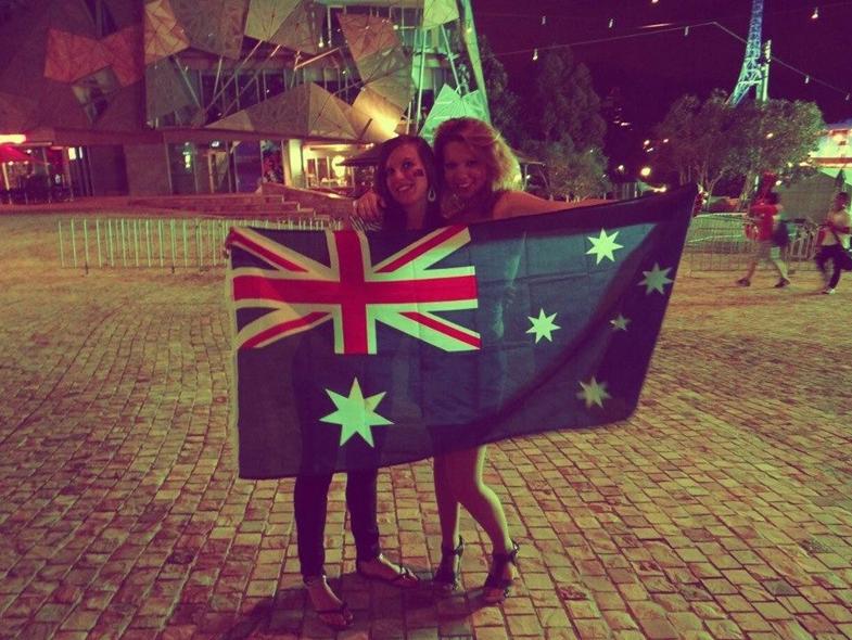 Le jour de l'Australian Day à Melbourne