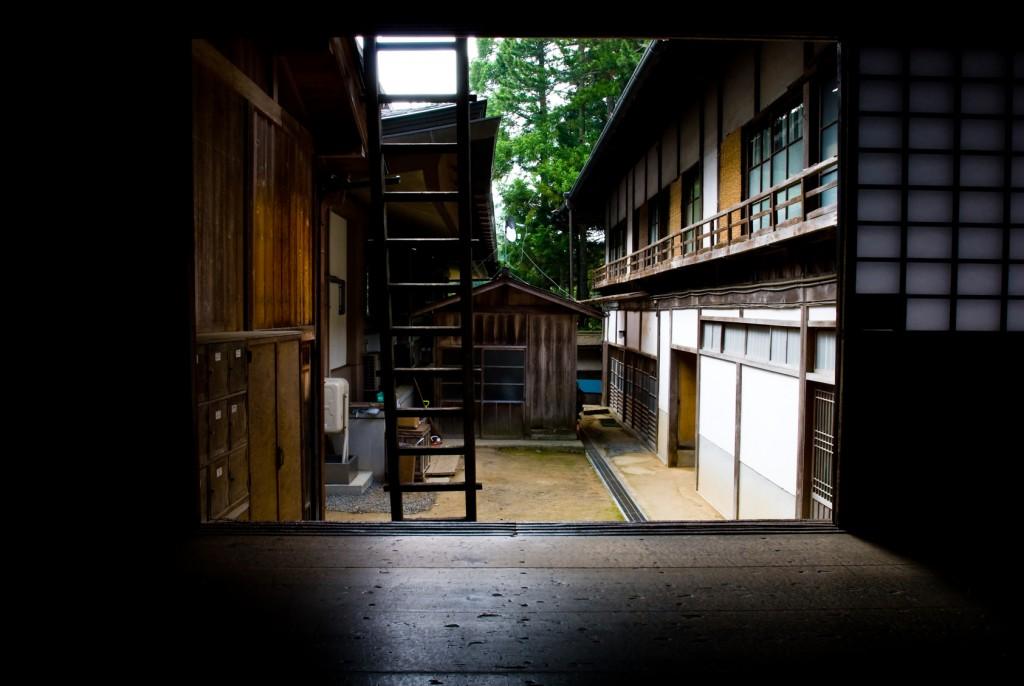temple bouddhsite sur le mont Koya au Japon