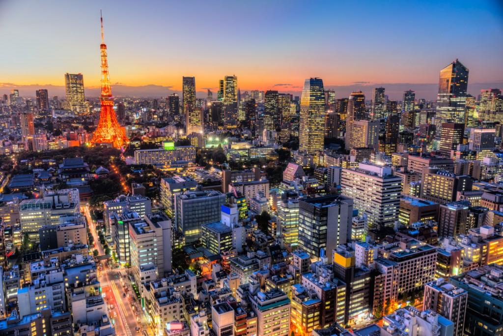 vue de Tokyo capitale ultra moderne