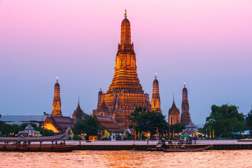 escale a bangkok en thailande
