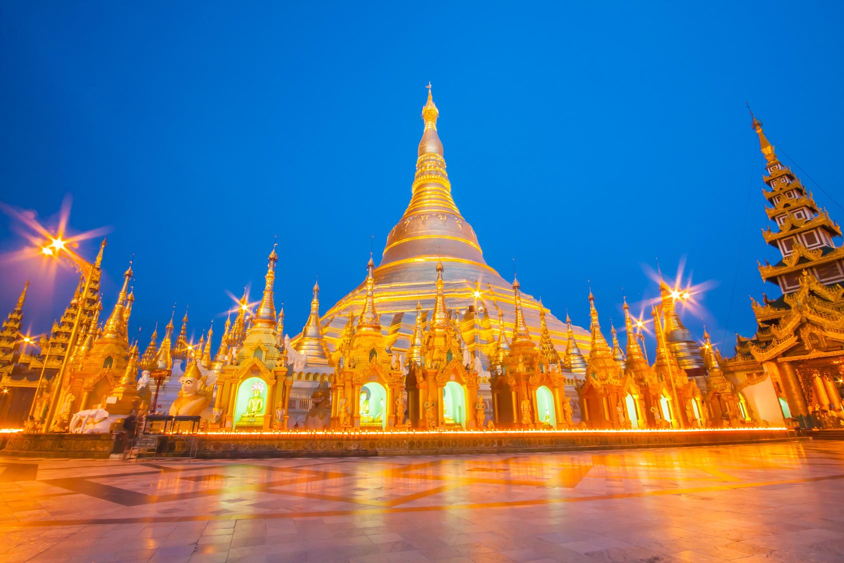 escale en birmanie
