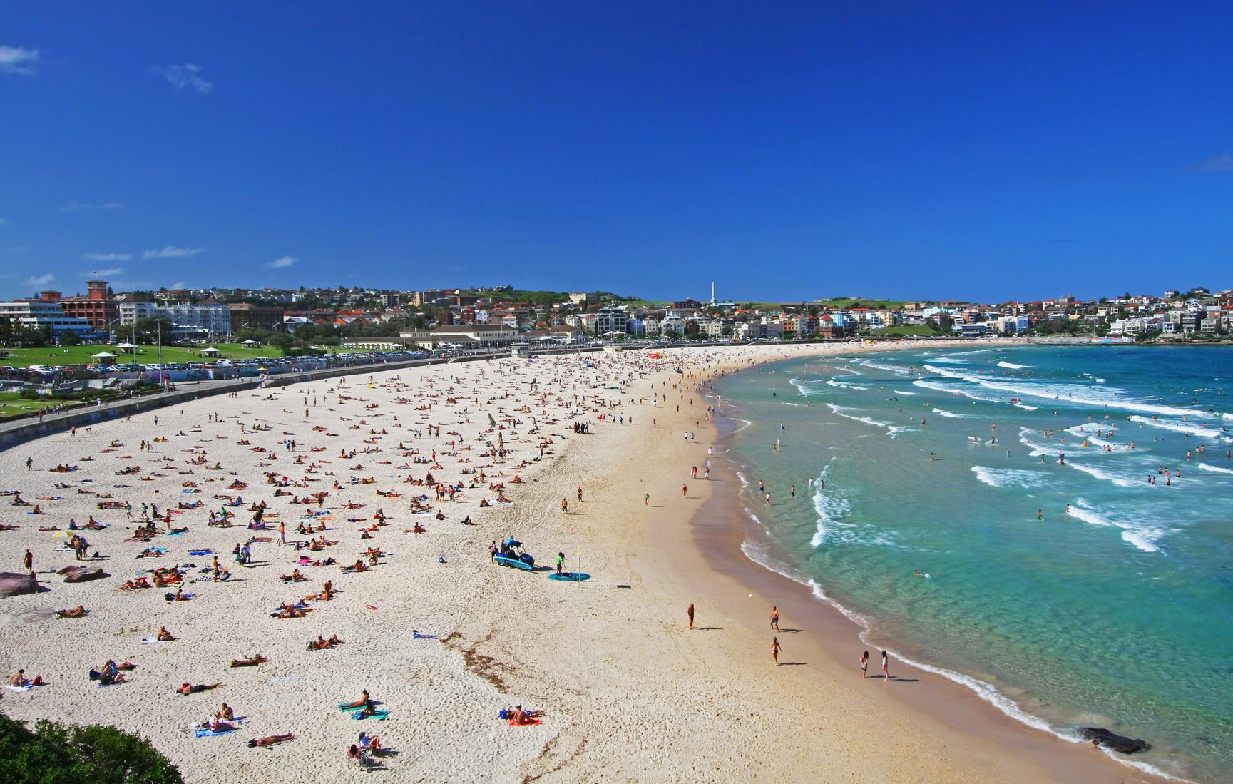 photo de bondi beach a sydney australie