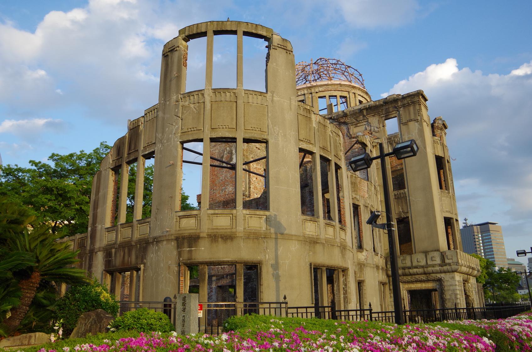 Photo prise à Hiroshima, incontournable en WHV Japon