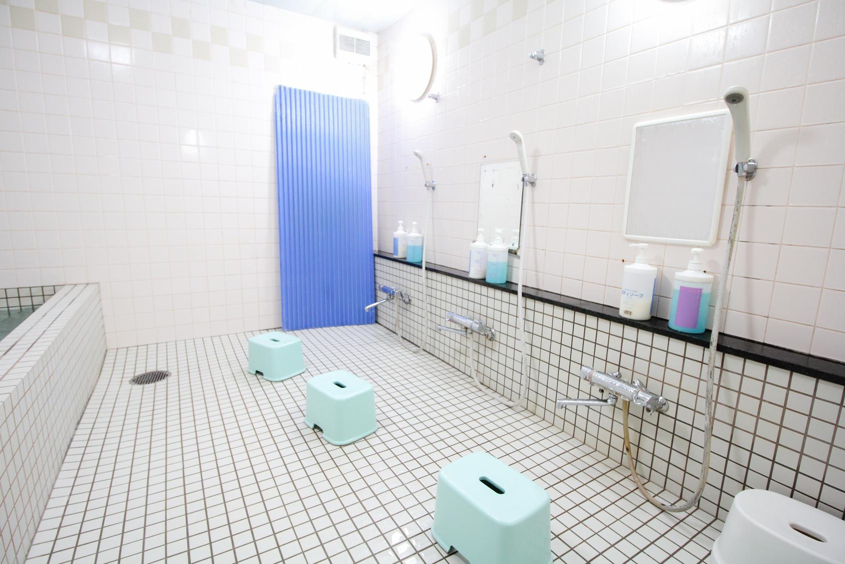 Douche au Japon