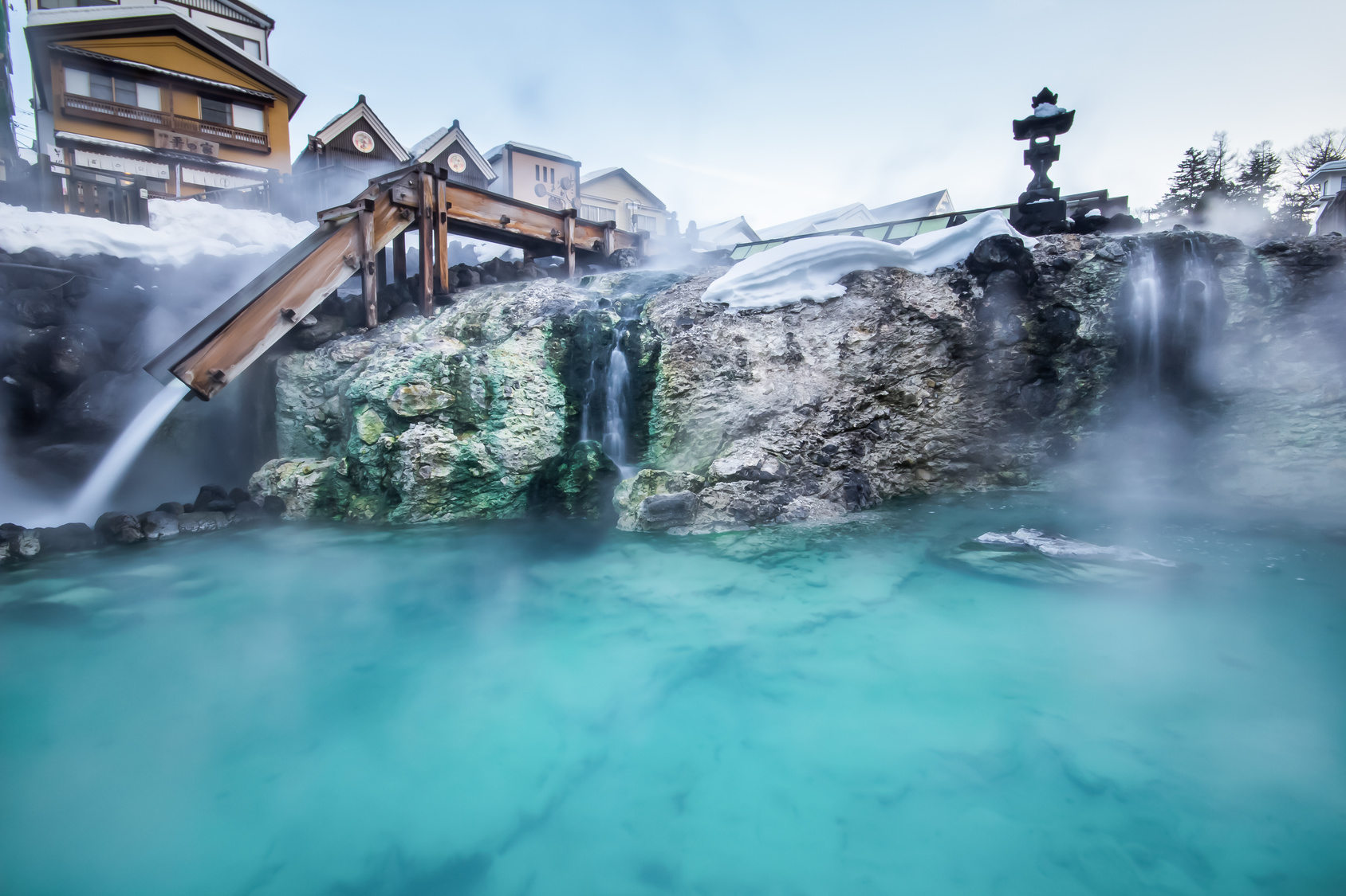 bain thermal Onsen Japon