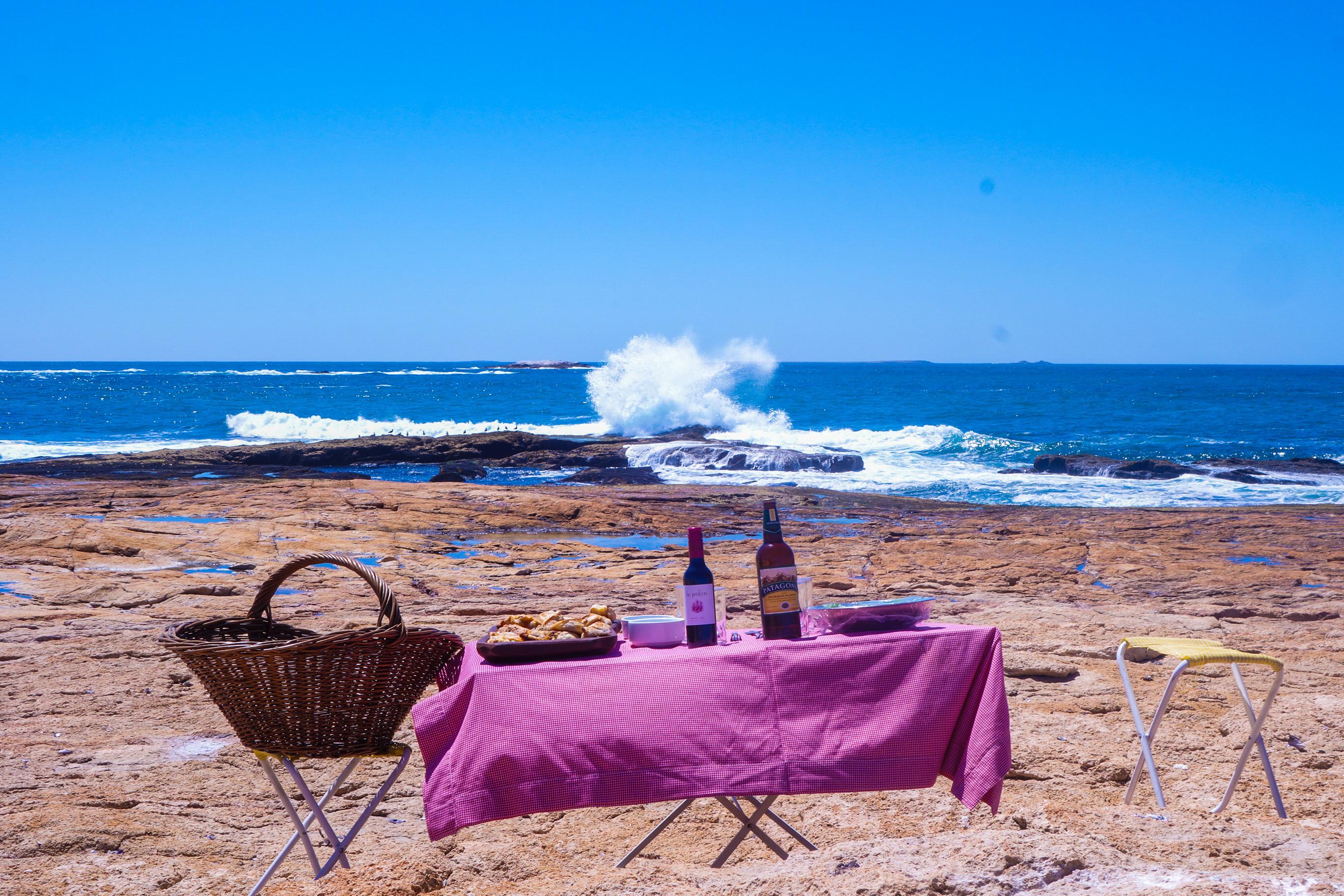 Argentine Bahia Bsutamante plage
