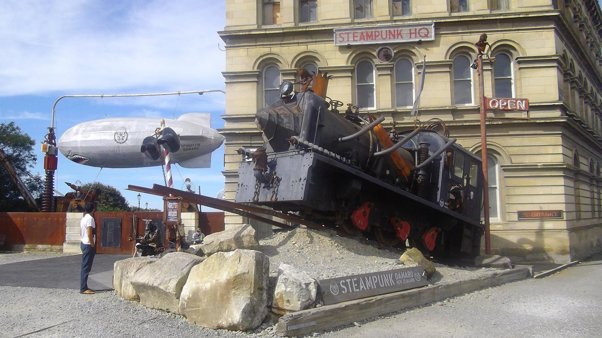 oamaru steampunk nz road-trip