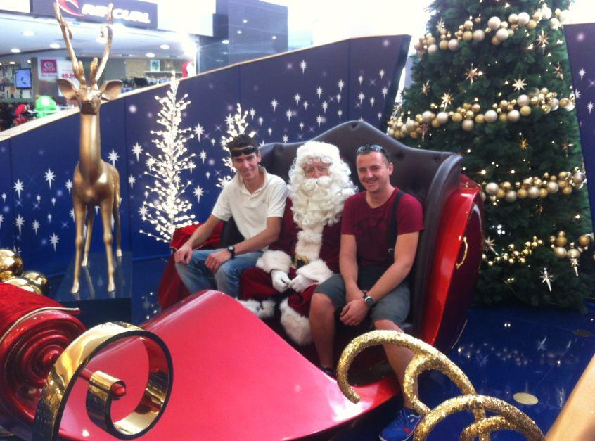 Noel à Perth Australie