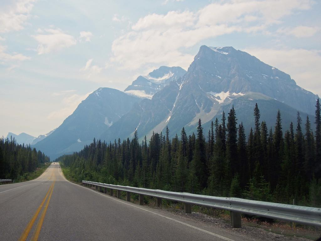 icefield parkway rocheuses canada