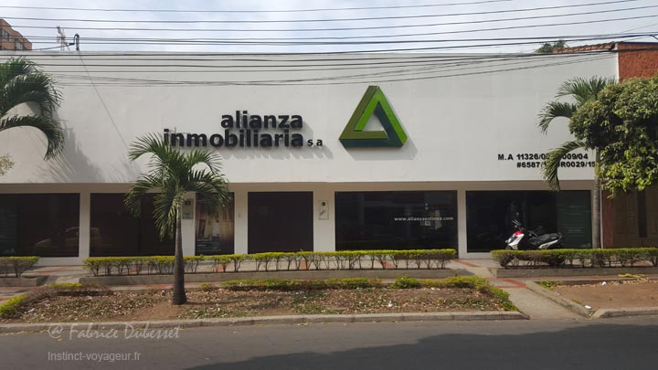 agence immobilière en colombie
