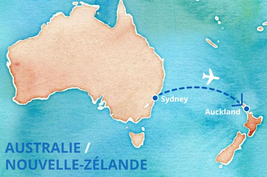 Carte Australie Grande Ville.Toutes Les Formalites Pour Partir D Australie Et Arriver En Nz