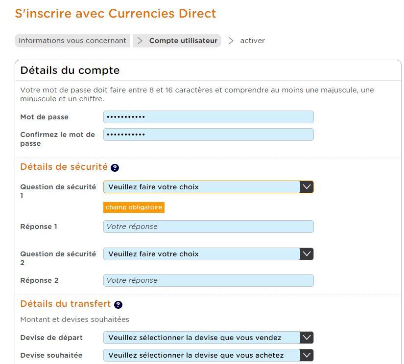 currencies direct inscription
