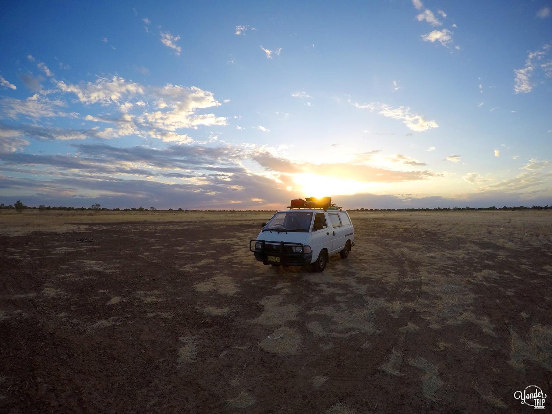 désert van