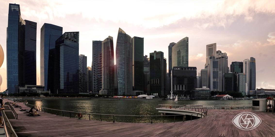 vue de singapour