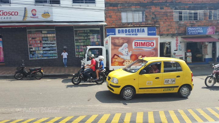 les diff u00e9rents moyens de transport en colombie