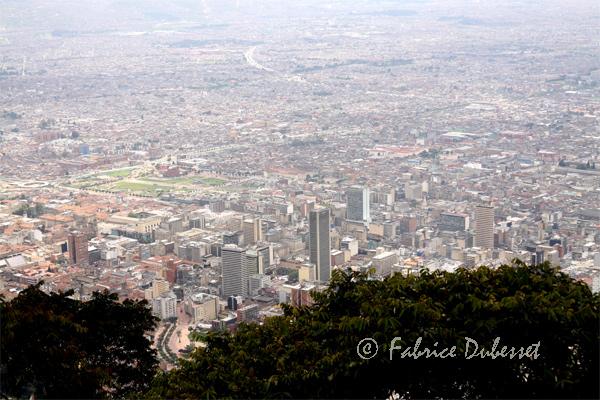 vue de Bogota Colombie