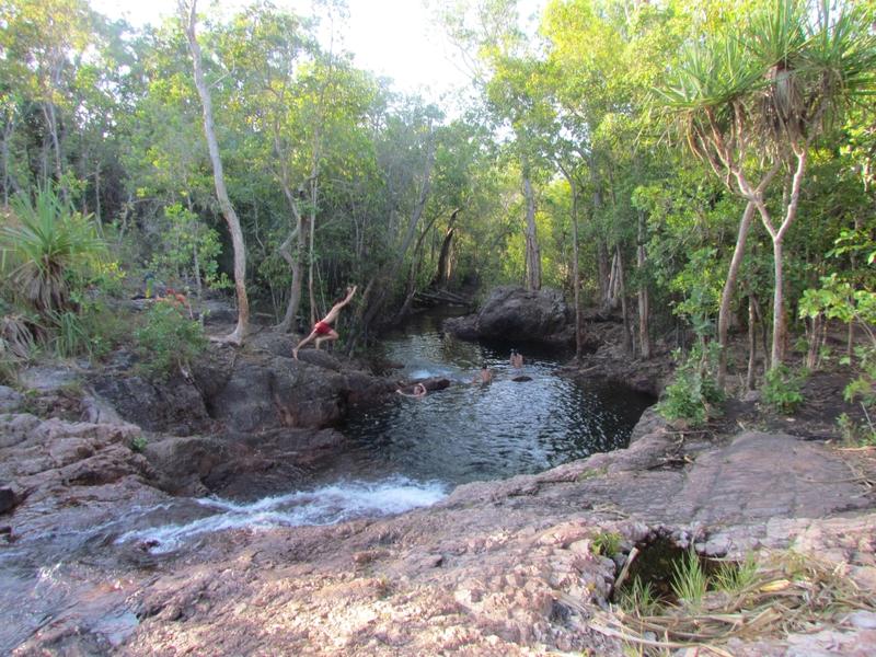 Bulley rockholes piscine naturel australie