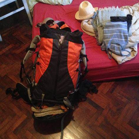 backpack colombie eleonore
