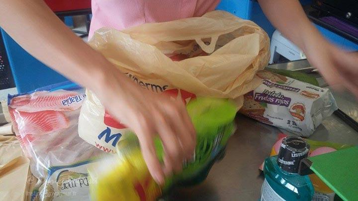 caisse supermarche colombie