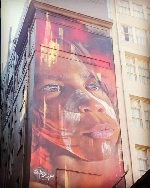 exemple de street art à melbourne