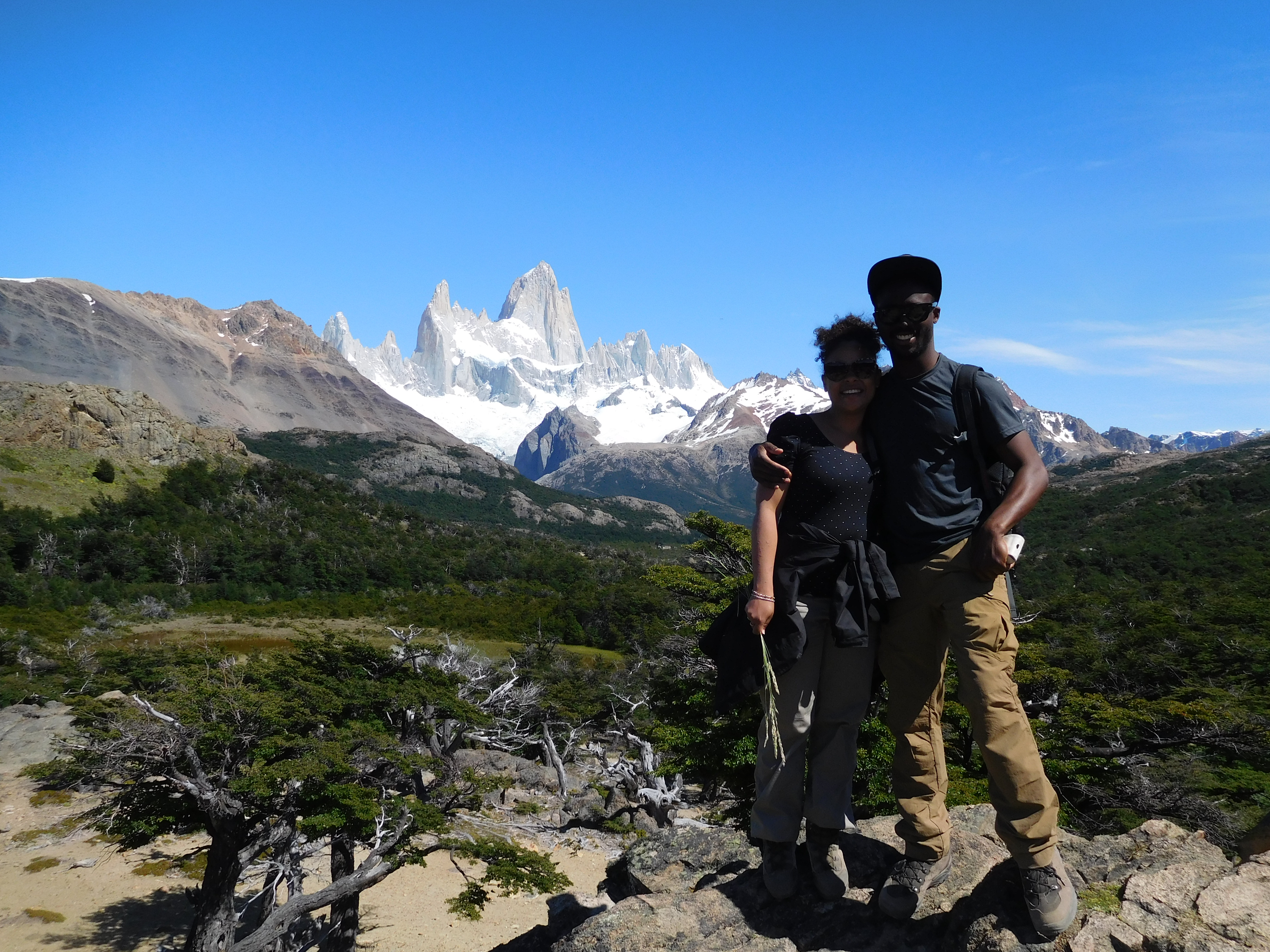 montagne fitzroy en argentine