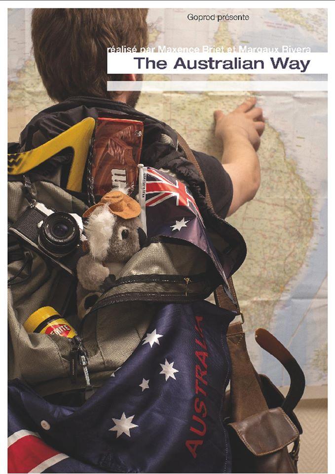affiche du documentaire sur l'australie the australian way