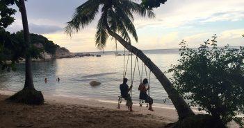 Thaïlande Paysage paradisiaque couple