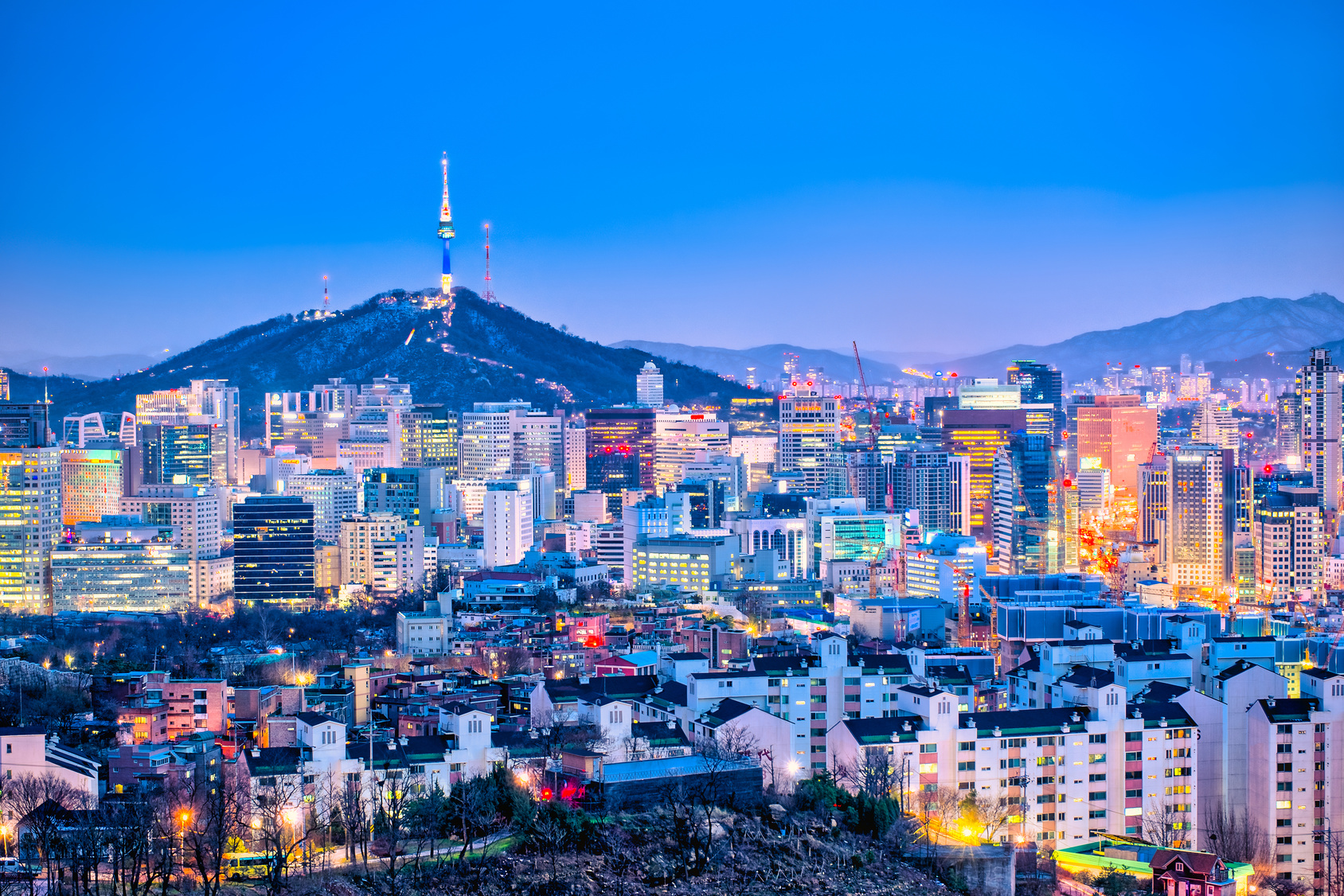 seoul korea day