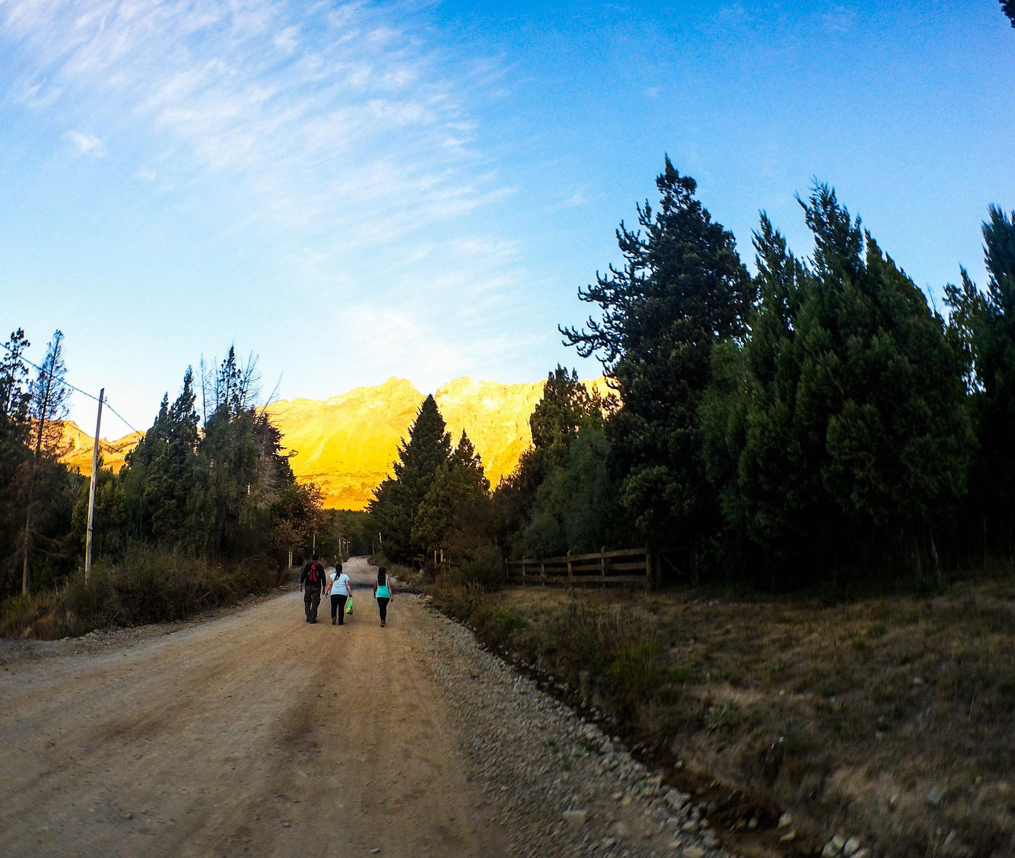 lucie en workaway en argentine