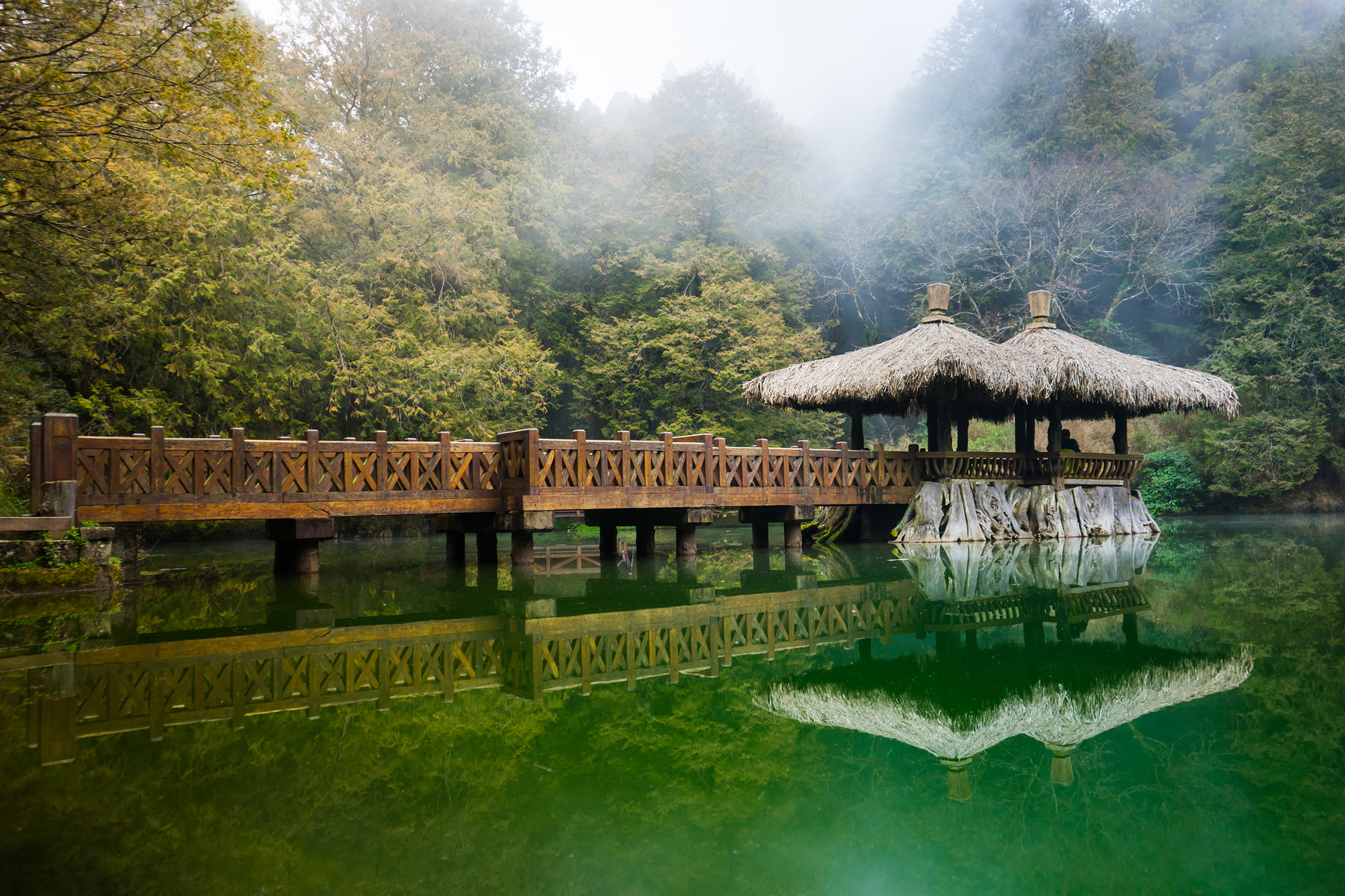 le pont elder sister à Taiwan