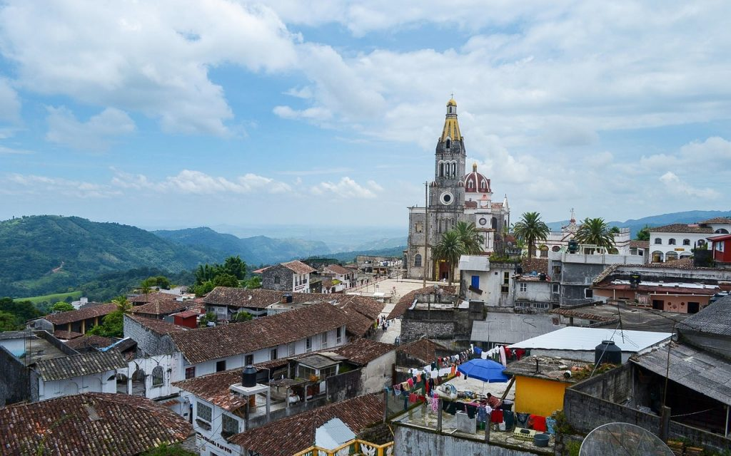 Ciudad de Cuetzalan mexique