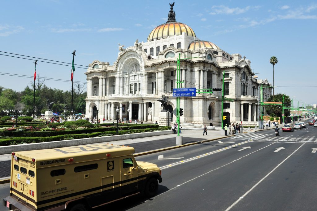 la capitale Mexico