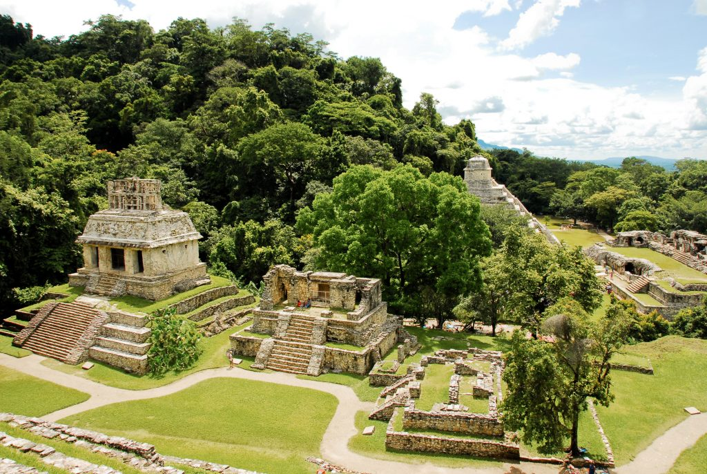 Ruinas de Palenque au mexique