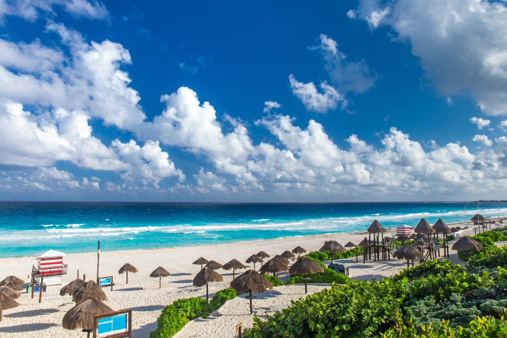 Playa Delfines a Cancun au Mexique