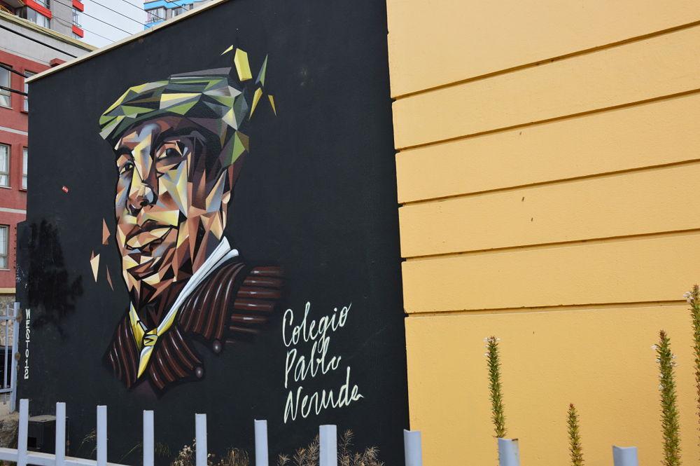 Pablo Neruda, icone de Valparaiso