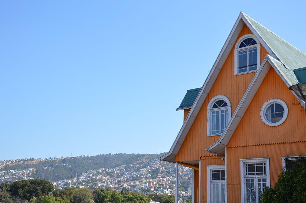 Le Brighton, un hotel restaurant a Valparaiso