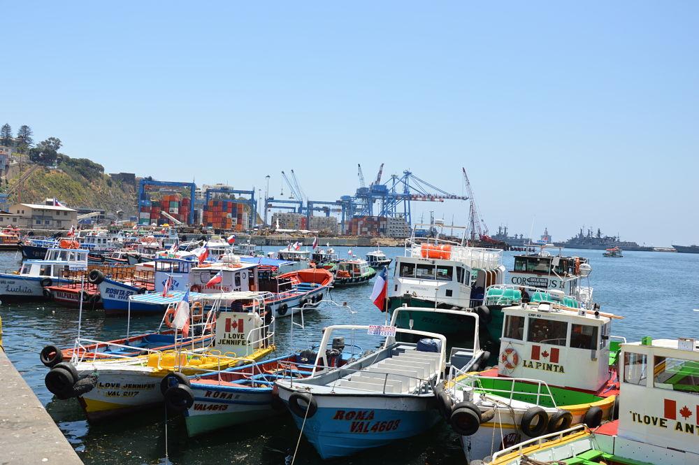 Allez voir le port de plaisance durant votre sejour à Valparaiso