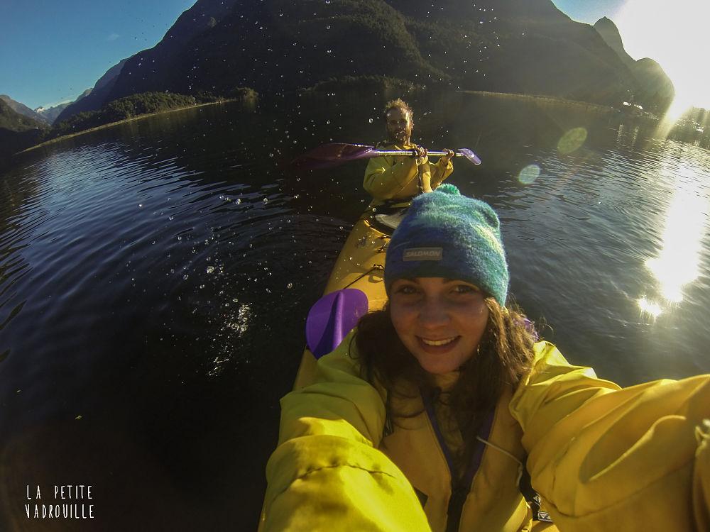Vivre en Nouvelle-Zélande, c'est aussi profiter du kayak