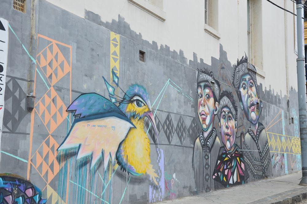 Un séjour à Valparaiso autour des œuvres murales